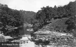 Hackfall, On The River Ure c.1874, Masham