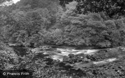 Masham, Hackfall Rapids, View From Fisherman's Hut 1927