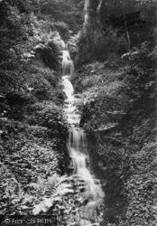 Masham, Hackfall, The Waterfall c.1885