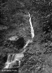 Masham, Hackfall Waterfall 1927