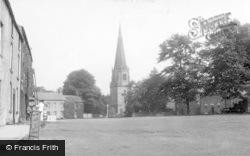 Masham, Market Square And Church c.1960