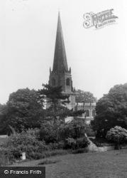 Masham, Parish Church c.1955