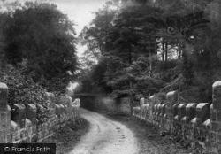 Masham, Quarry Ghyll Bridge 1908