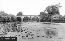 Masham, The Bridge c.1955
