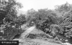 Masham, The River c.1955