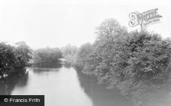 Masham, The River c.1960
