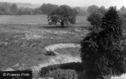 Masham, View Across Playing Fields c.1960