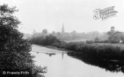 Masham, View From Bridge c.1960