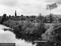 Masham, View From The Bridge c.1960