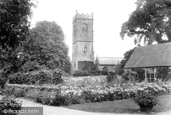 Mathern, St Tewdric's Church 1906