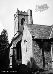 Mathern, St Tewdric's Church 1949