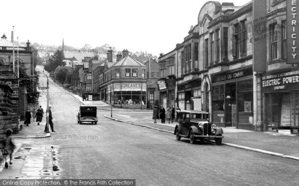 Matlock, Bank Road c1949