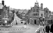 Matlock, Bank Road from Crown Square c1949