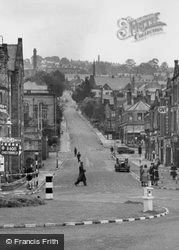 Bank Road From Crown Square c.1949, Matlock
