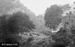 By The Derwent c.1884, Matlock Bath