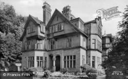 Cromford Court Guest House c.1955, Matlock Bath