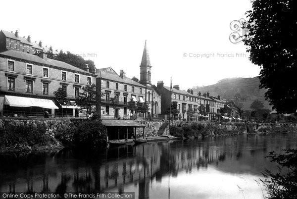 Matlock Bath, Derwent Terrace 1892