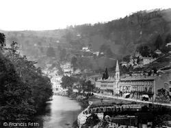 Matlock Bath, Derwent Terrace c.1864