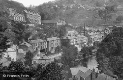 Derwent Terrace c.1884, Matlock Bath