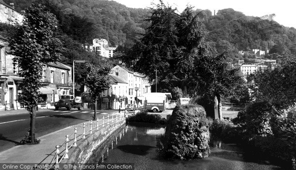Matlock Bath, Fishpond and Heights of Abraham c1955