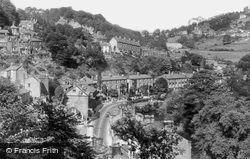 From Temple Walk c.1955, Matlock Bath