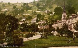 Matlock Bath, Gardens And Heights Of Jacob c.1877