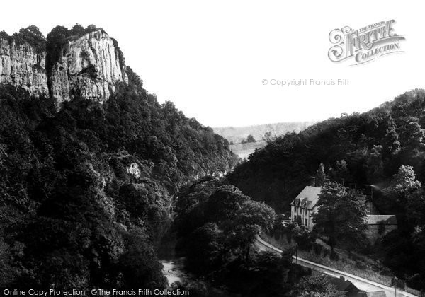 Matlock Bath, High Tor 1892