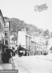 Hodgkinson's Hotel, South Promenade c.1870, Matlock Bath