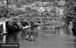 Jubilee Bridge c.1955, Matlock Bath