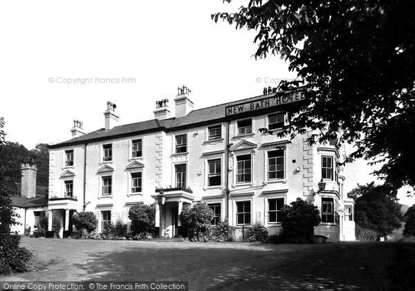Matlock Bath, New Bath Hotel c1955