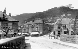 North Parade And Midland Hotel 1892, Matlock Bath