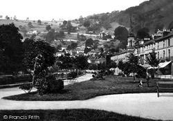 Promenade And Heights Of Jacob c.1877, Matlock Bath