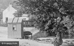 River Derwent Ferry 1892, Matlock Bath