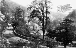 Road To Temple Hotel c.1864, Matlock Bath