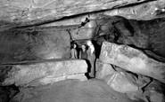 Matlock Bath, Royal Cumberland Cavern c1955