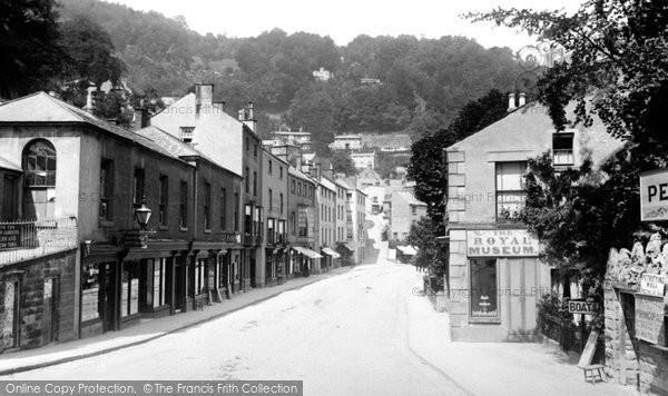 Matlock Bath, South Parade 1892