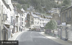 South Parade And The Heights Of Abraham c.1955, Matlock Bath