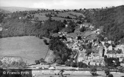 View From Riber Hillside c.1955, Matlock Bath