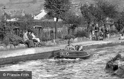 Boating Lake c.1955, Matlock