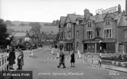 Crown Square c.1950, Matlock