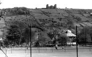 Matlock, Hall Leys Park and Riber Castle c1955