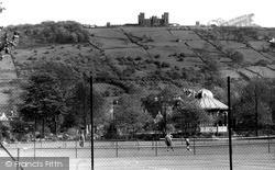 Hall Leys Park And Riber Castle c.1955, Matlock