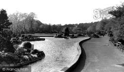 Hall Leys Park c.1955, Matlock
