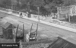 Matlock Bank  Footbridge 1886, Matlock