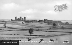 South East View Of Riber Castle c.1955, Matlock