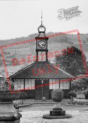 The Park, Clock Tower c.1950, Matlock