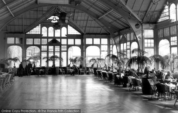 Matlock, Winter Garden Smedley's Hydro c1955