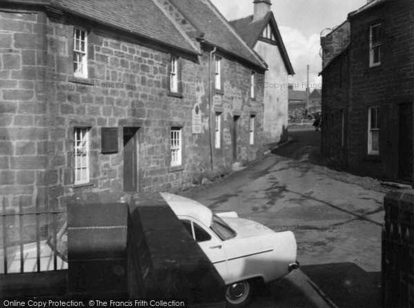 Mauchline, Burns's House 1958