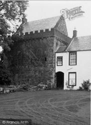 Mauchline, Castle 1951