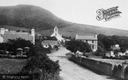 The Church And Village 1895, Maughold